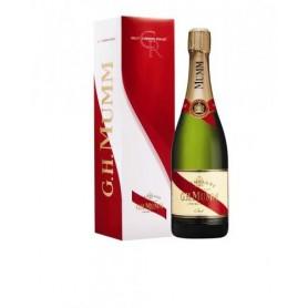 Champagne Mumm Cordon Rouge avec étui