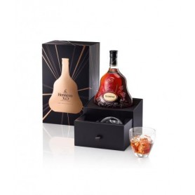 Cognac Hennessy X.O + 2 verres