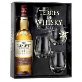 Coffret Terre de Whisky GlenLivet 15 ans