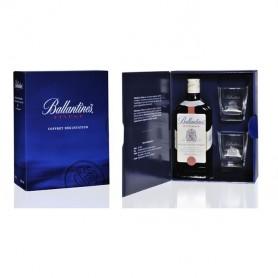 Coffret Ballantine's Finest + 2 verres