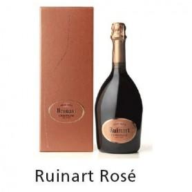 Champagne RUINART Rosé sans etui