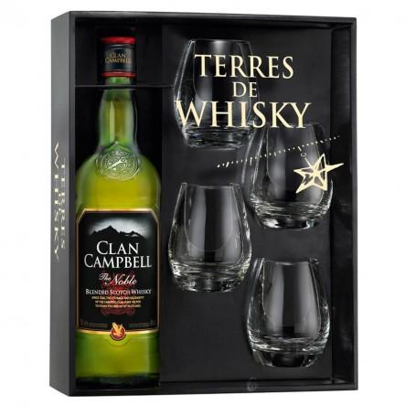 Coffret Terre de Whisky Clan Campbell