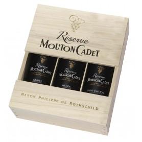 Coffret 3 bouteilles Réserve Mouton Cadet