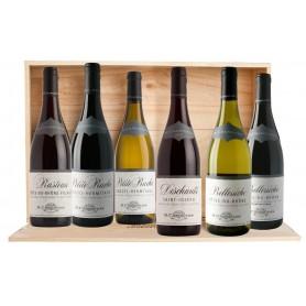 Coffret  6 bouteilles Collection Chapoutier  Vallée du Rhône