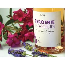 """Languedoc rosé Cuvée """"les 100 Pas du berger"""" 2015 Bergerie du Capucin"""