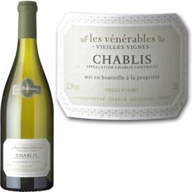 """Chablis cuvée """"Les Vénérables"""" 2015 Domaine la Chablisienne"""