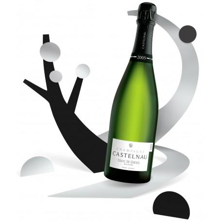Champagne Castelnau Blanc de Blancs Millésimé 2005