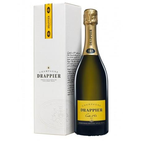 Champagne Drappier Carte d'or Brut sous étui
