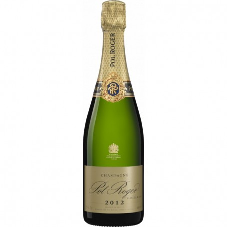 Champagne Pol Roger Cuvée Blanc de Blancs Millésimé 2012