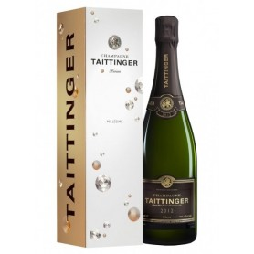 Coffret 3 bouteilles Taittinger Millésimé 2012