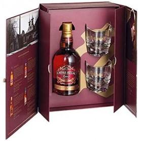 Coffret whisky Chivas Extra + 2 verres