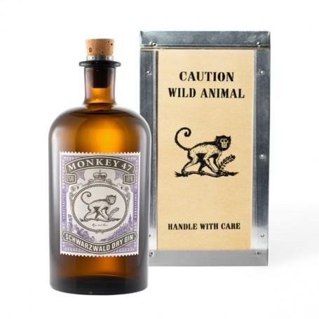 Gin Monkey 47 caisse bois