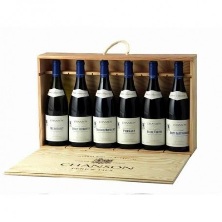 Coffret 6 bouteilles DUC DE BOURGOGNE