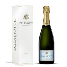 Champagne Brut Delamotte avec étui