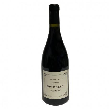 """Beaujolais Brouilly cuvée """"Pisse Vieille"""" 2015 Domaine des Terres dorées"""