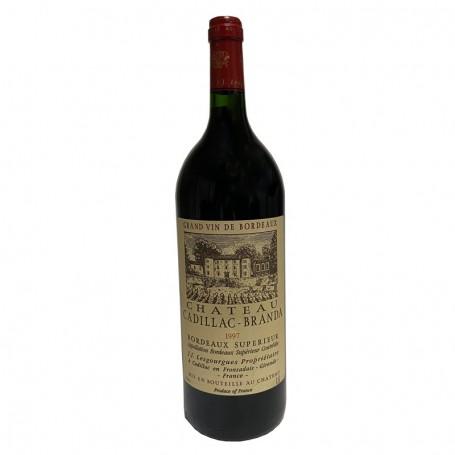 Magnum Bordeaux Supérieur Château Cadillac- Branda 1997