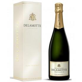 Champagne Delamotte Blanc de Blancs sous étui