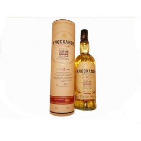 Whisky KNOCKANDO 12 ans sous étui.
